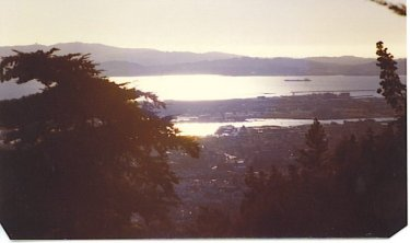 Alameda - from the Oakland Hills - 1979