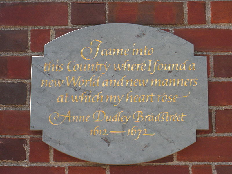 anne bradstreet in reference to her children