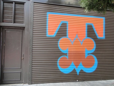 Ben Eine street art in San Francisco