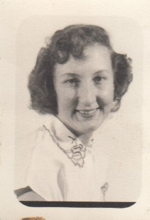 Dotty Allen abt 1951