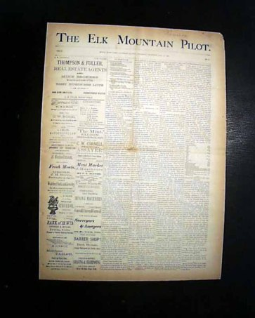 The Elk Mountain Post