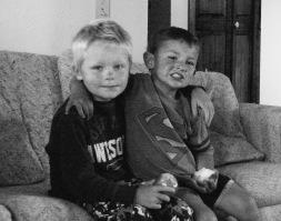 Connor and Jaxon