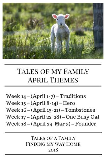 Tales of my FamilyApril Themes copy