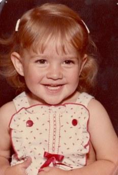 Leslie Marie 18 months - Oct. 1983