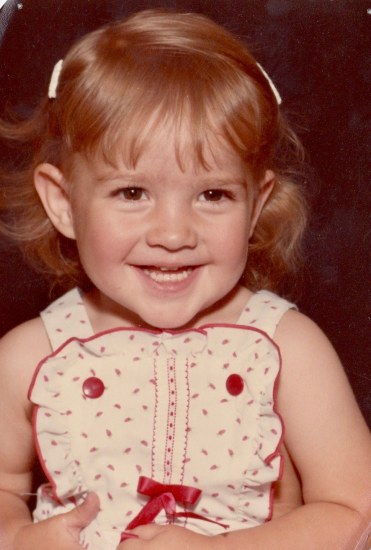 Leslie Marie 18 months - Oct. 1983