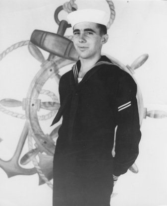 Dad in Navy Uniform -